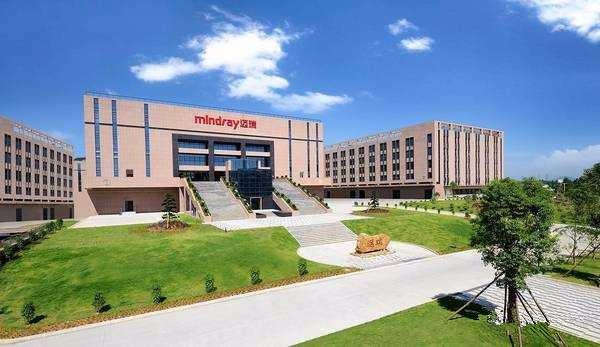 迈瑞医疗生产基地